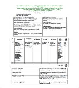 Commercial Invoice Word Template by 14 Commercial Invoice Templates Free Word Excel Pdf