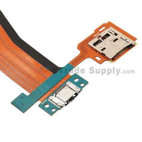 Charger Sm Original 10 W samsung galaxy tab s sm t800 charging port with sd card flex ribbon etrade supply