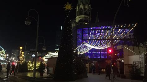 berlin s christmas market relit as it prepares to reopen