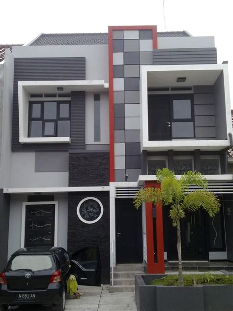 design minimalis modern design rumah minimalis modern 2 lantai gambar rumah