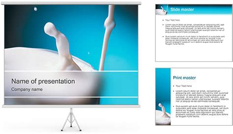 presentation themes for milk lait mod 232 les des pr 233 sentations powerpoint et milieux id