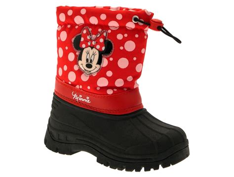 Boots Minnie Mouse By Kenmomshop disney minnie mouse snow boots wellies