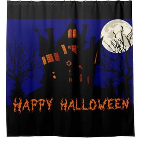 haunted house curtains best halloween shower curtains products on wanelo