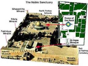 map of the dome dome of the rock noor s list