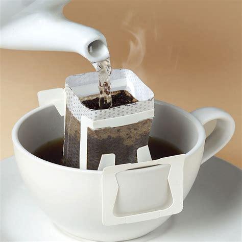 Coffee O Drip International Mini Box fresh drip coffee ground coffee bean decaffeinated drinks high quality arabica material 100g 10