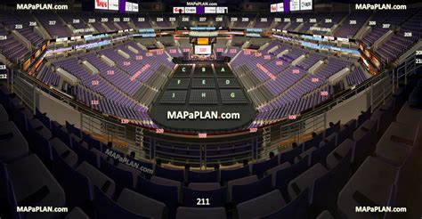 Air Canada Centre Floor Plan by Talking Stick Resort Arena Us Airways Center View From