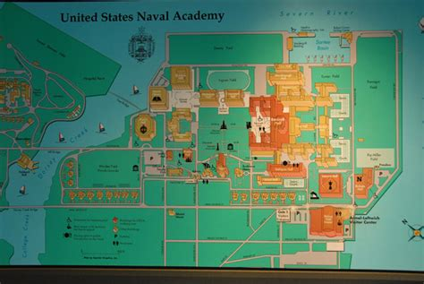 map us naval academy map of the u s naval academy annapolis maryland photo