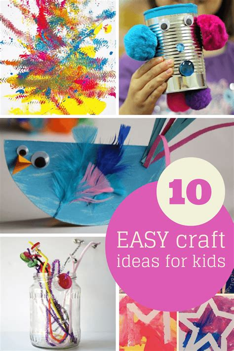 Giveaway Ideas For Kids - fantastic easy craft ideas for kids