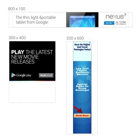 adsense size google adsense now enables publishers to set custom ad sizes