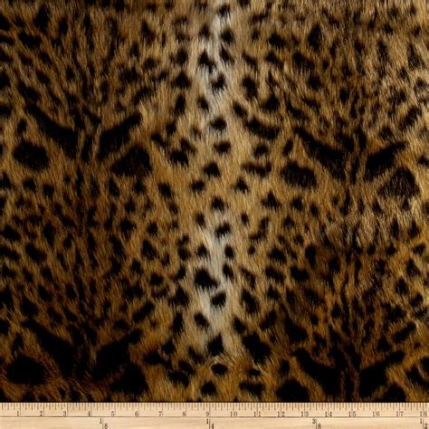 leopard fabric shannon luxury faux fur leopard gold discount designer