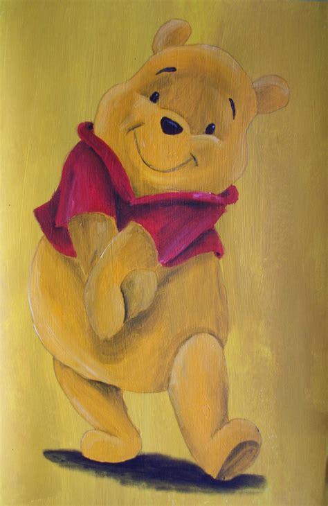 winnie the pooh painting winnie the pooh by billywallwork525 on deviantart