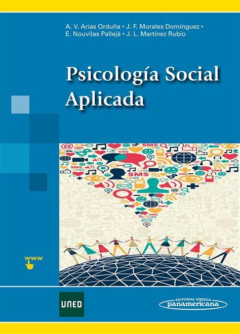 libros psicologia uned pdf descargar psicolog 237 a social aplicada