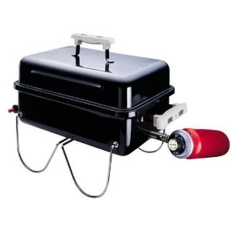 Apartment Patio Grill Weber Propane Grill Go Anywhere Model 1520 Camping Idea