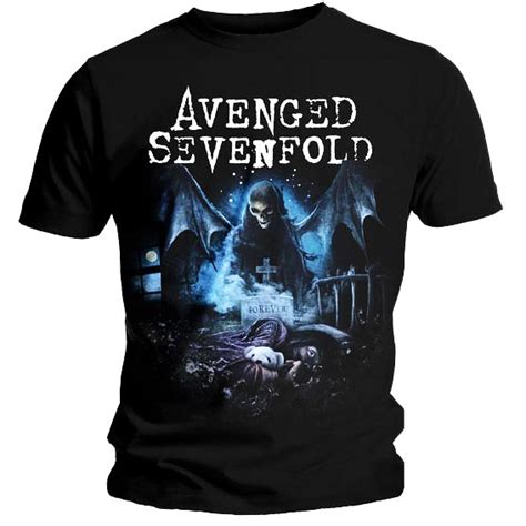 official tshirt avenged sevenfold recurring nightmare ebay