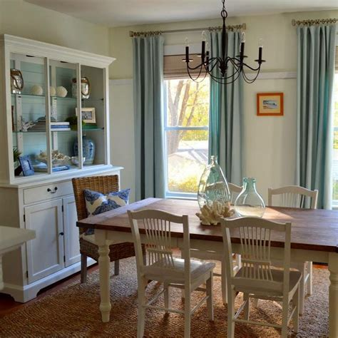 Coastal Dining Room Ideas by 26 Relaxing Coastal Dining Rooms And Zones Digsdigs