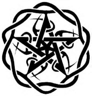 celtic pentagram tattoo designs pentagram pic design ideen