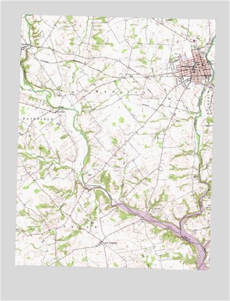 greenfield ohio map greenfield oh topographic map topoquest