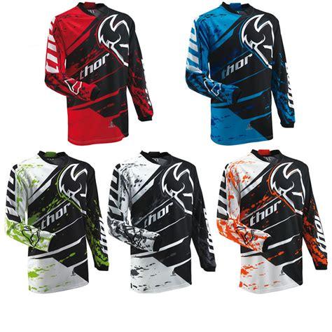 thor motocross jersey thor 2013 phase s13 youth splatter junior childrens mx
