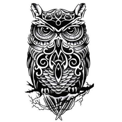 Unterarm Tattoo Aufkleber by K 252 Hle Eulen Muster Tattoo K 246 Rper Tattoo Aufkleber