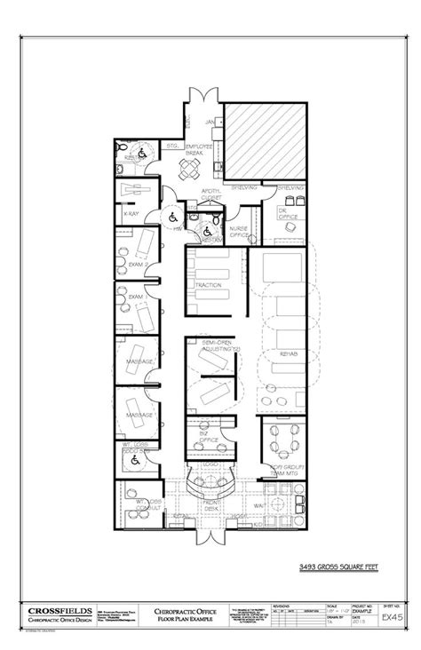chiropractic office floor plan chiropractic office floorplan with meeting room 3 493