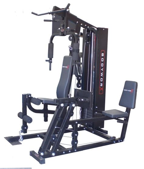 bodyworx l8000lp 215lb home with leg press