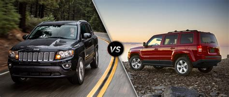 Jeep Compass Vs Jeep Jeep Patriot Jeep Compass Successor To Arrive In March