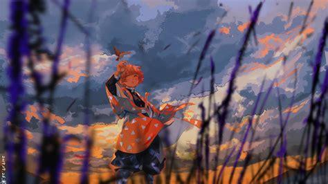 demon slayer zenitsu agatsuma   bird hd anime