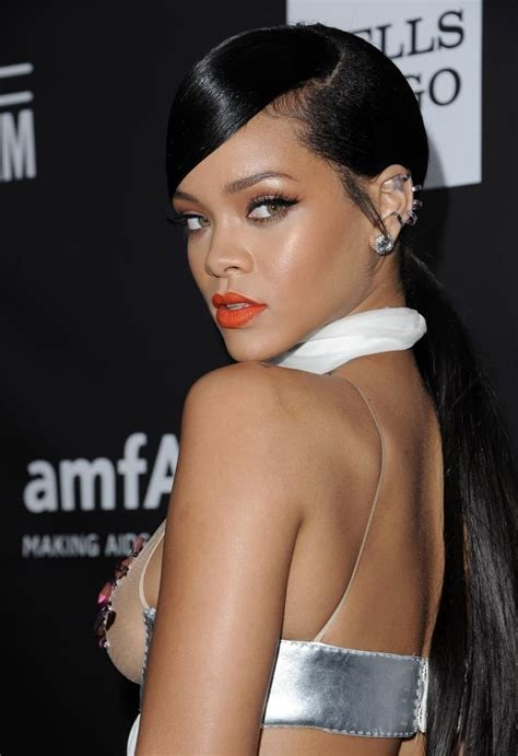 Rihanna Weave Hairstyles by 20 Beautiful Ponytail Hairstyles For Sheideas