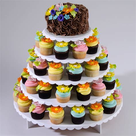Cupcake Stand cupcaketree cupcake stand for weddings or square