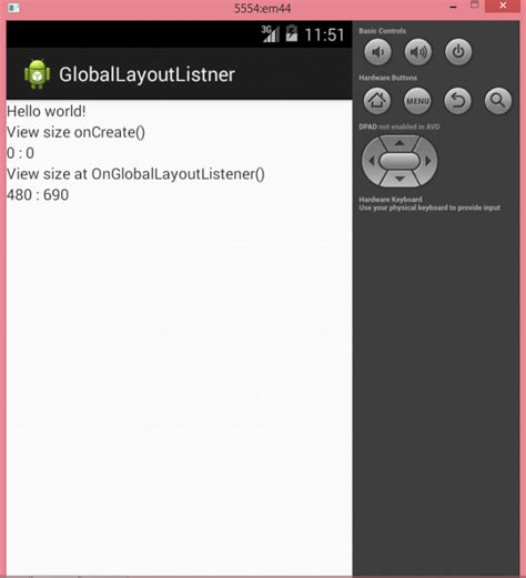 android layout width in activity layout width device height and width via globallayoutlistner