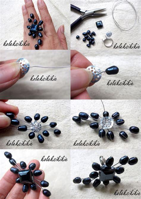 Kait Rangka Anting Gantung Silver Aksesoris rangka cincin bros koleksikikie