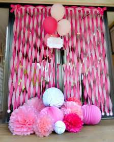 pinke dekoration charming sweet tickled pink baby shower hostess with