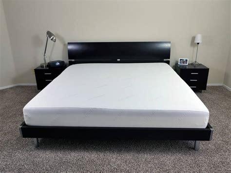 needle bed ghostbed vs tuft needle mattress review sleepopolis