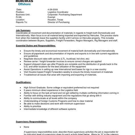 resume templates ideas of logistics manager magnificent resume format for logistics manager federal government sle templates