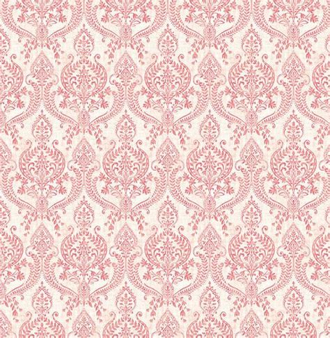 red damask wallpaper home decor decor references isla red petite damask wallpaper from the kismet