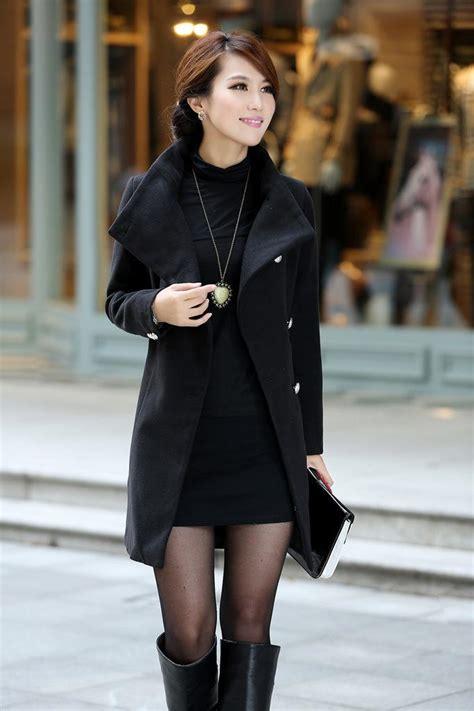 Jaket Cbv Pcs Black jaket musim dingin korea black coat jyn803black coat korea
