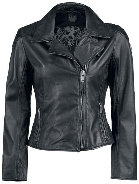 cazadora cuero chica cazadora de cuero negra para chica abrigos y chaquetas