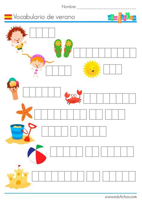 actividades para ninos de espanol 218 ltimas fichas de verano 2016 fichas de actividades para