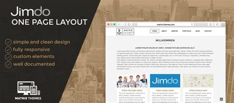layout jimdo html jimdo one page layout official website
