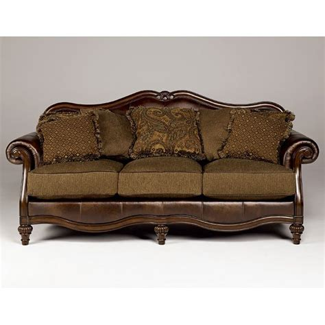 Claremore Antique Sofa by Claremore Antique Sofa Signature Design By