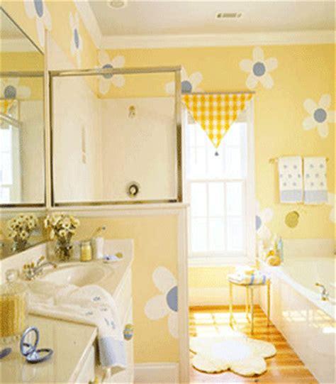 yellow and blue bathroom ideas kids bathroom ideas charming girls bathroom decor