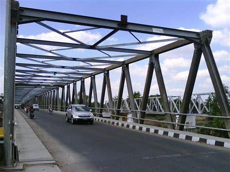 catat pembangunan jembatan bengawan solo bojonegoro
