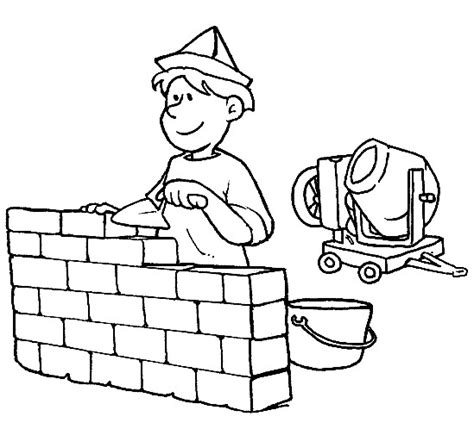 people and jobs coloring pages for kids