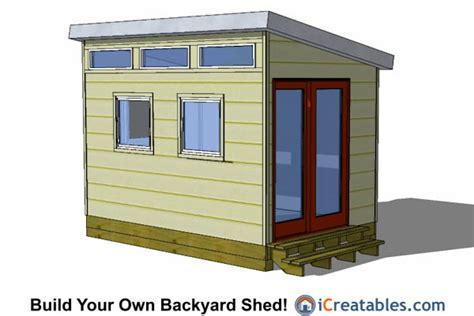 Free Garden Shed Plans 8×12