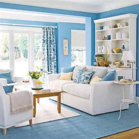 Blue Living Rooms Interior Design Home Design Inside Blue And White Living Room Decorating Ideas