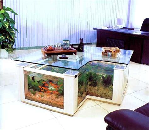 aquarium wohnzimmer couchtisch aquarium die einzigartige m 246 bel f 252 r