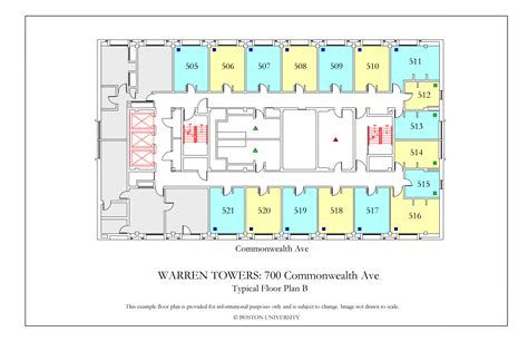 boston college floor plans 28 boston college floor plans warren towers floor