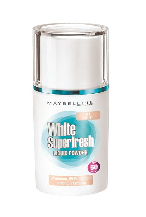 Maybelline Fresh white superfresh liquid powder