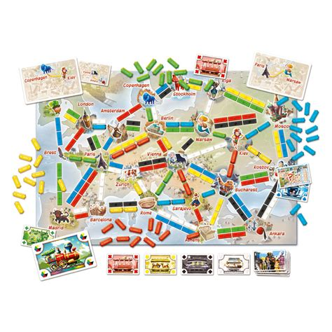 Ticket To Ride Germany Original Board ticket to ride journey europe board the gamesmen