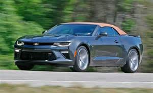 2016 chevrolet camaro ss convertible test review car and